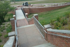 Custom Aluminum Stair Rails- Roanoke College