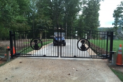 Custom Gate at Smith Mountain Lake